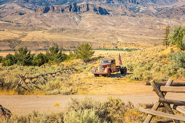 Wyoming Yard Art