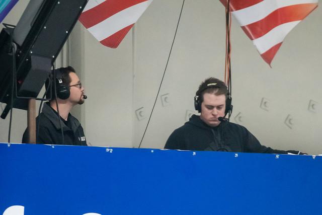 Broadcasting team