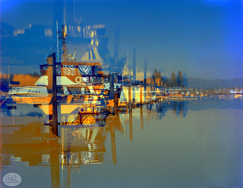 doubleexposure boats film filmphotography garylquay garyquay speedgraphic largeformat viewcamera