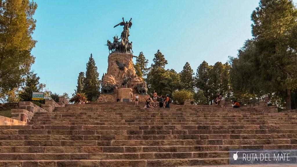 Cerro de la Gloria en Mendoza