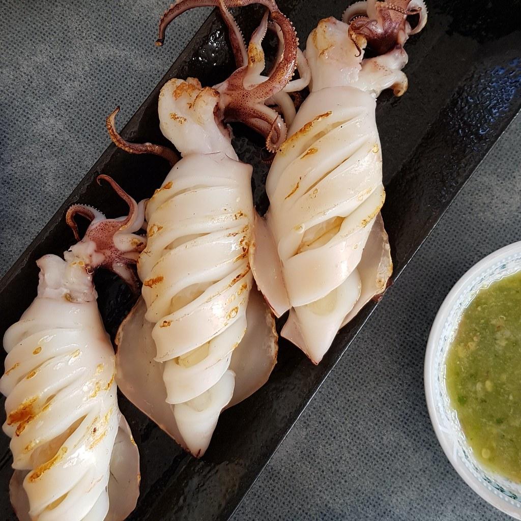 หมึกไข่ย่าง - Grilled Squid