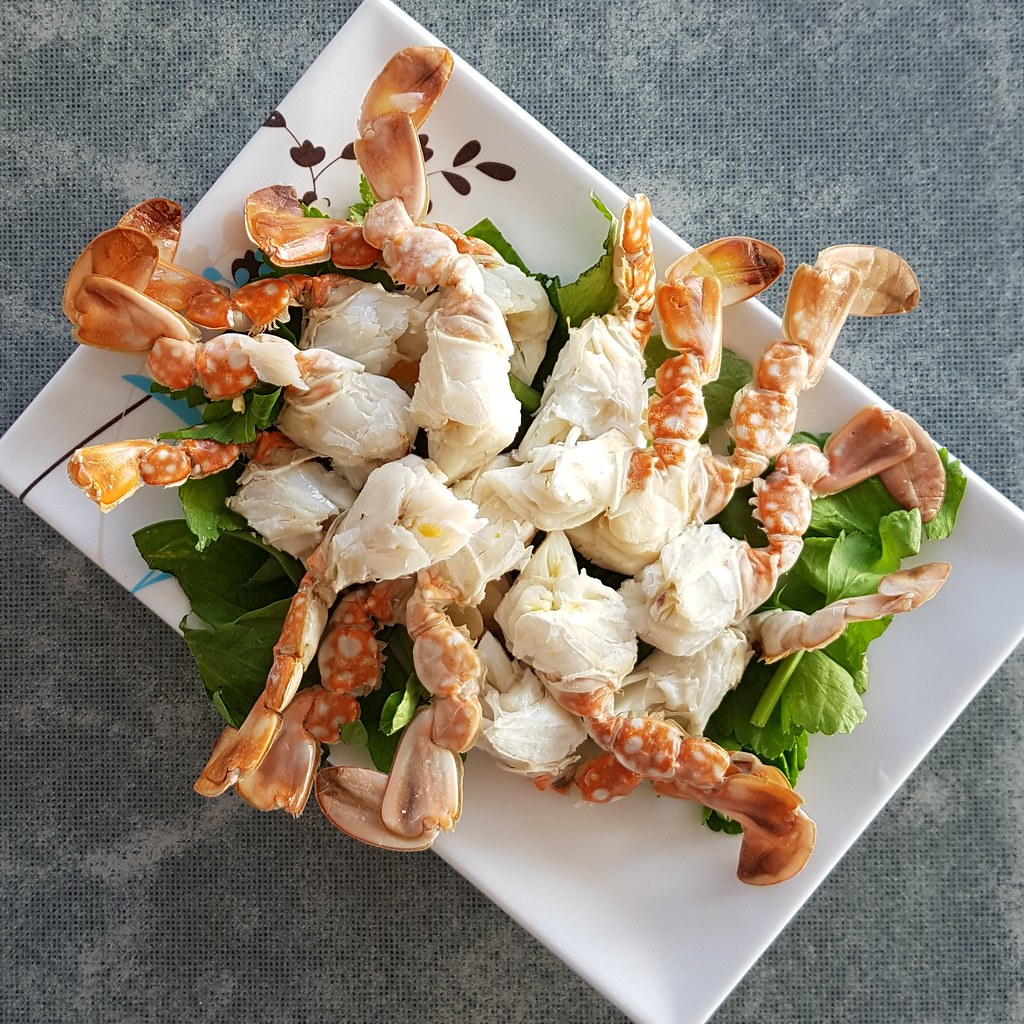 กรรเชียงปูนึ่ง - Streamed crab meat