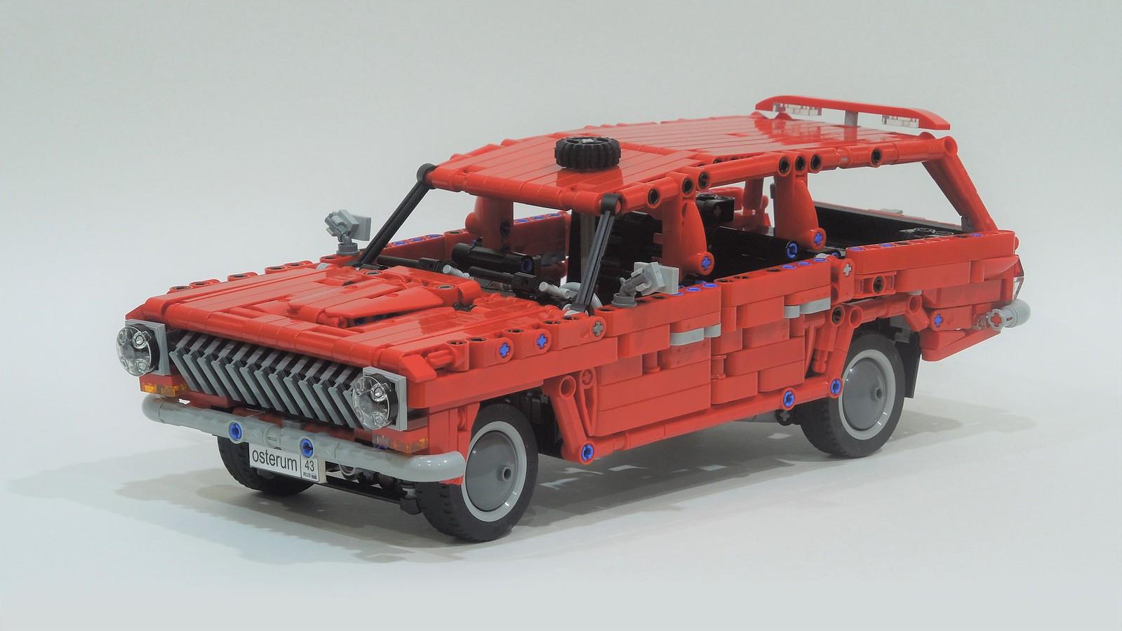 GAZ-2402 - Soviet Union's wagon