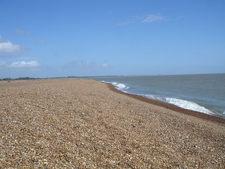 Shingle street, Suffolk.