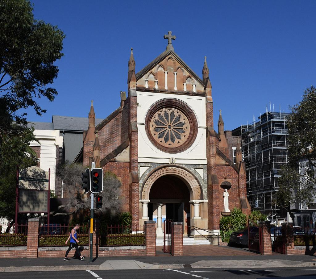 St Francis of Assisi Catholic Church, Paddington, Sydney, NSW.