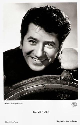 Daniel Gélin in La fille de Hambourg (1958)