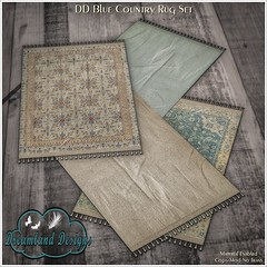 DD Country Rug Set AD