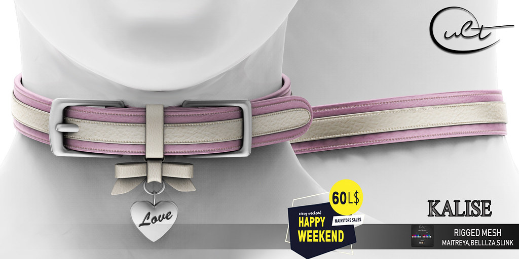 : CULT : KALISE COLLAR with HUD