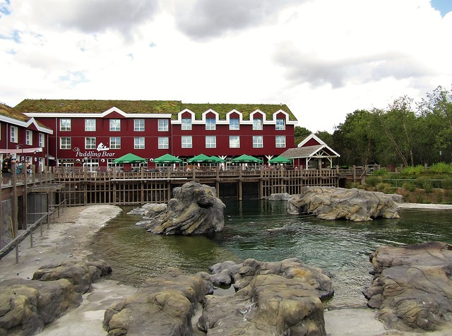 Paddling Bear Hotel at the Pari Daiza Resort