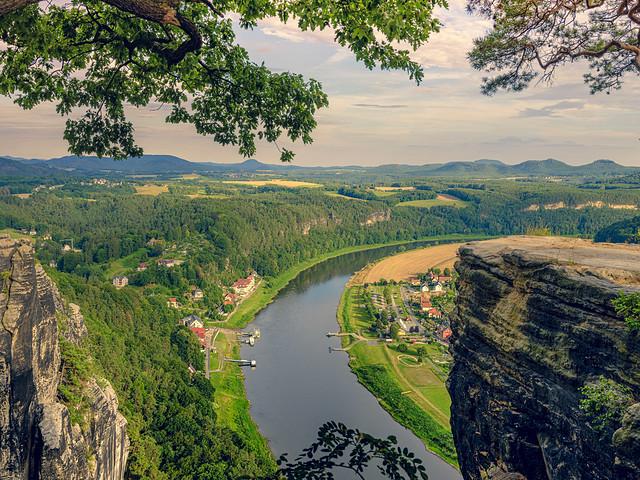 Elbsandsteingebirge - Elbe Sandstone mountains