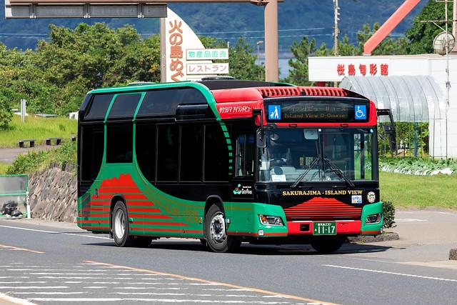 鹿児島230あ11-17 | Sakurajima Island View Shuttle Bus