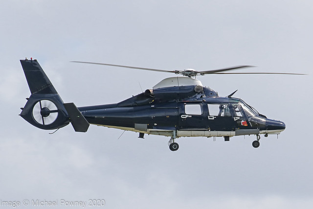 ZJ782 - 2007 build Eurocopter AS365N-3 Dauphin, Hammer 11 inbound to Shawbury for a very brief visit