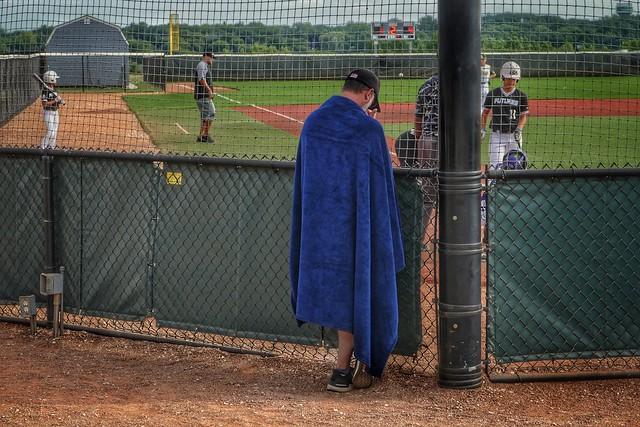 Baseball Dad...Early Game