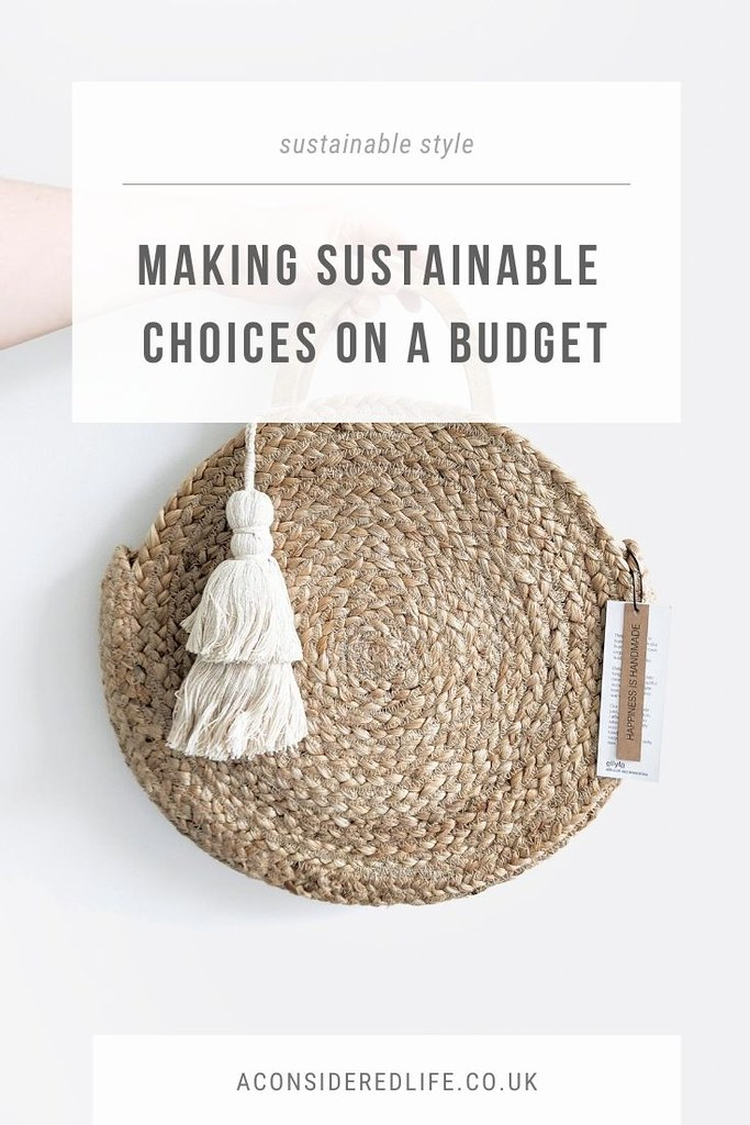 Sustainable Choices On A Budget