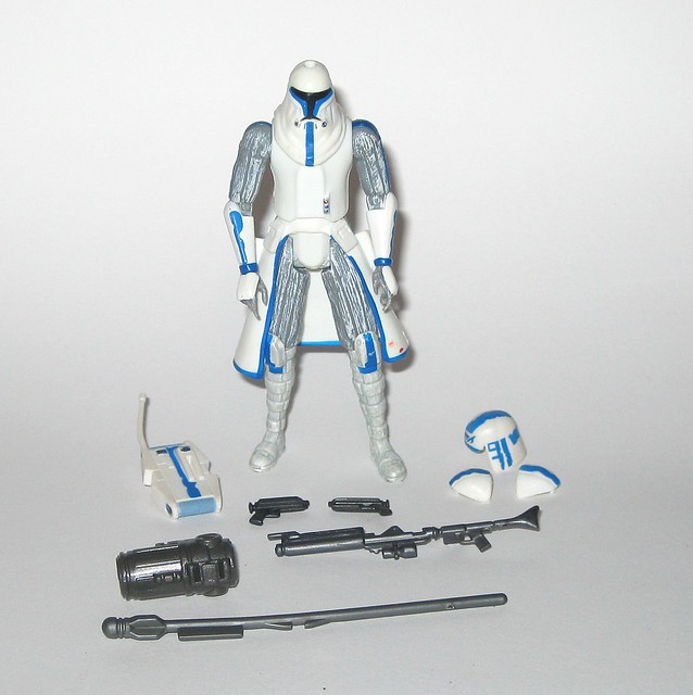 captain rex cold weather gear star wars the clone wars cw50 red and white packaging basic action figures 2009 hasbro b