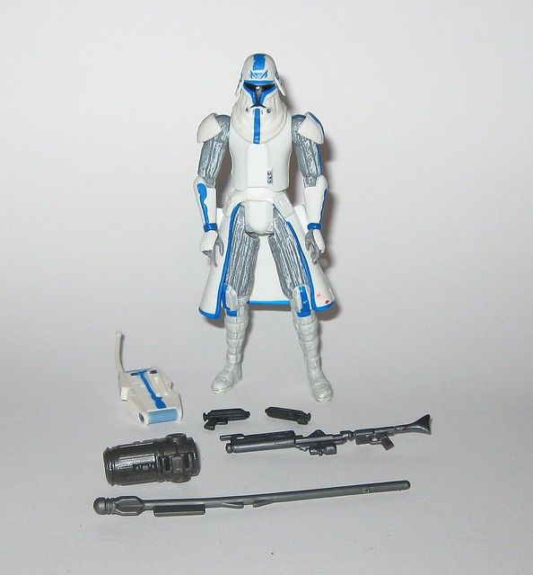 captain rex cold weather gear star wars the clone wars cw50 red and white packaging basic action figures 2009 hasbro a