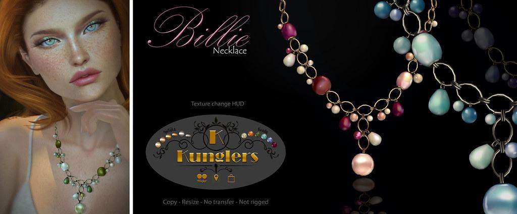 KUNGLERS – Billie necklace