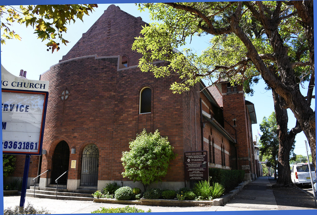St Columba Uniting Church, Woollahra, Sydney, NSW.