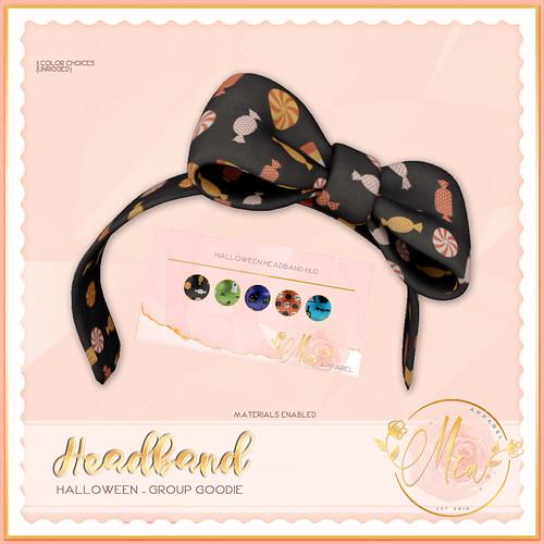 Mia Halloween Headband Ad GG