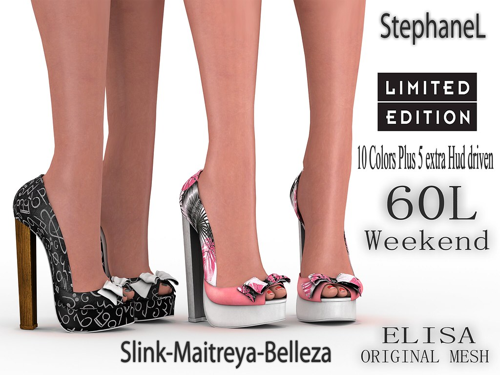 60L [StephaneL] ELISA SHOES LIMITED EDITION FATPACK