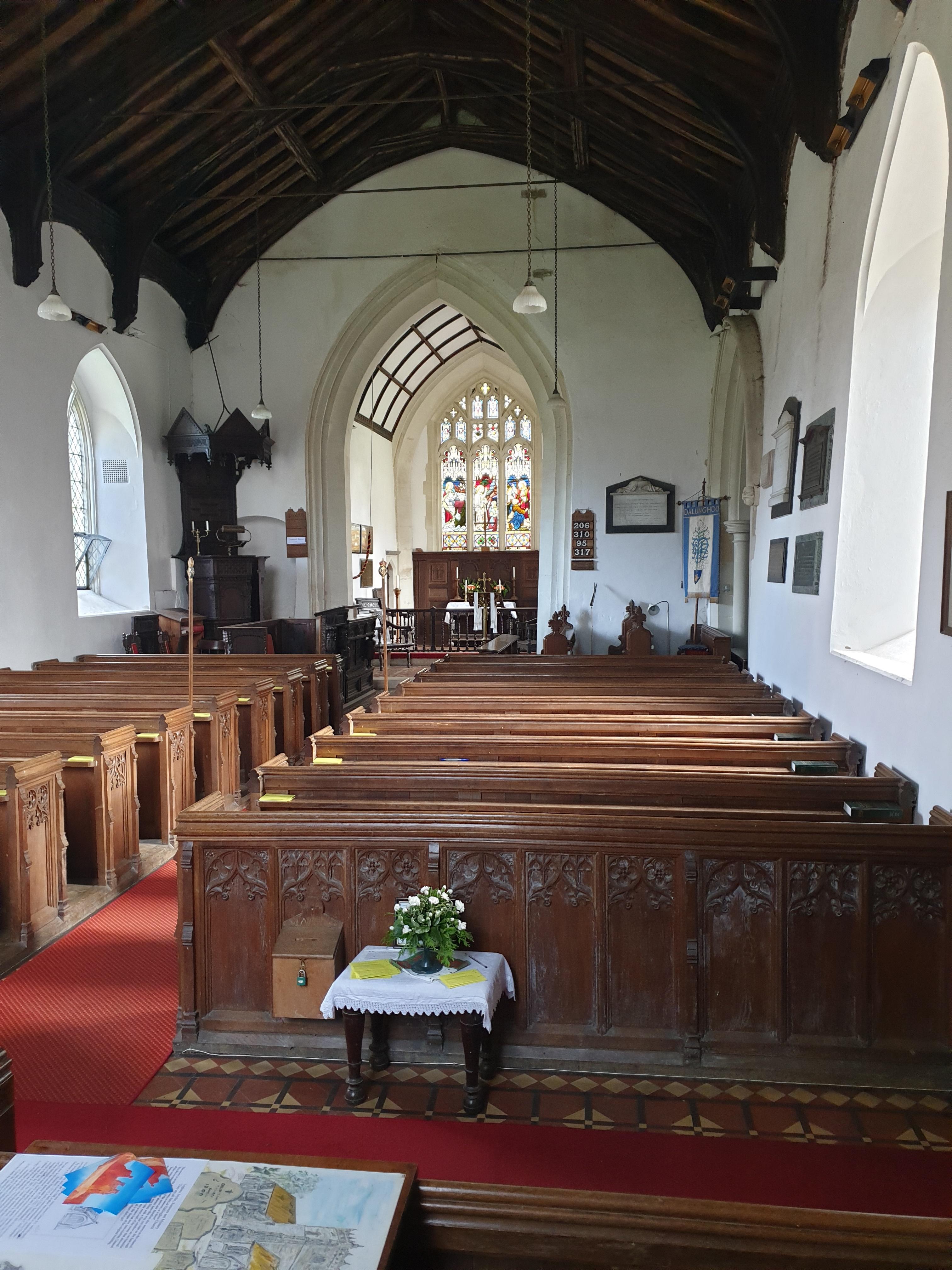 Sullfolk, Dallinghoo St Mary church (please credit church)