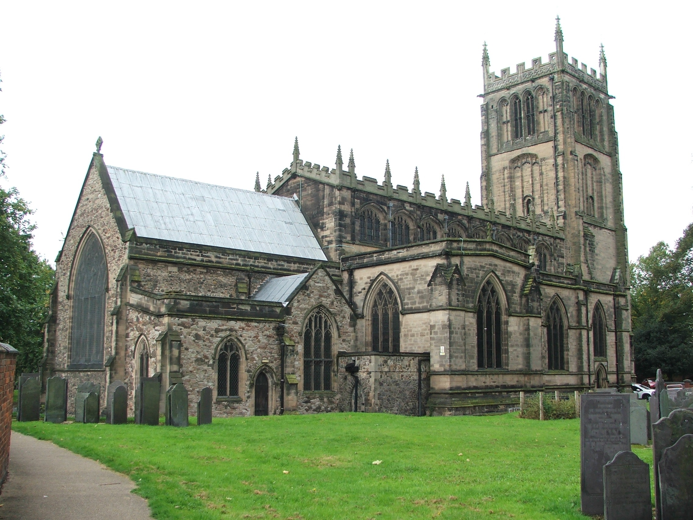 LOUGHBOROUGH All Saints church 3 (credit  All Saints church )