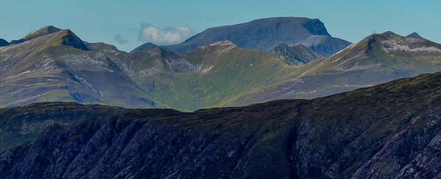 Ben Nevis and The Mamores, Scottish Highlands