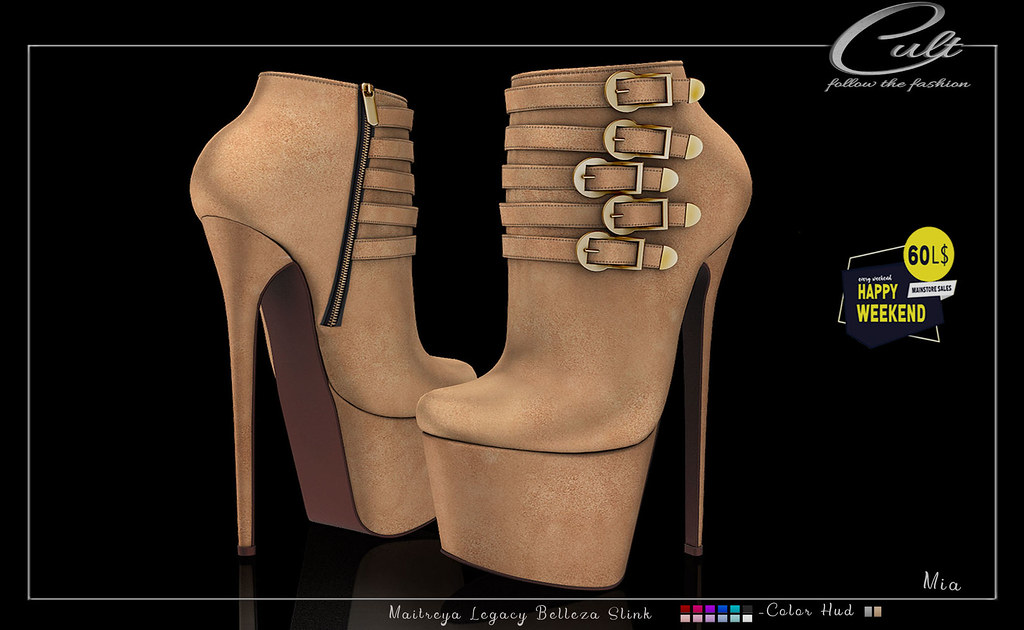 : CULT : Mia Boots with HUD