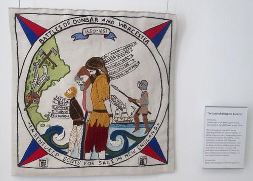 Tapestry Panel, Dunbar Museum
