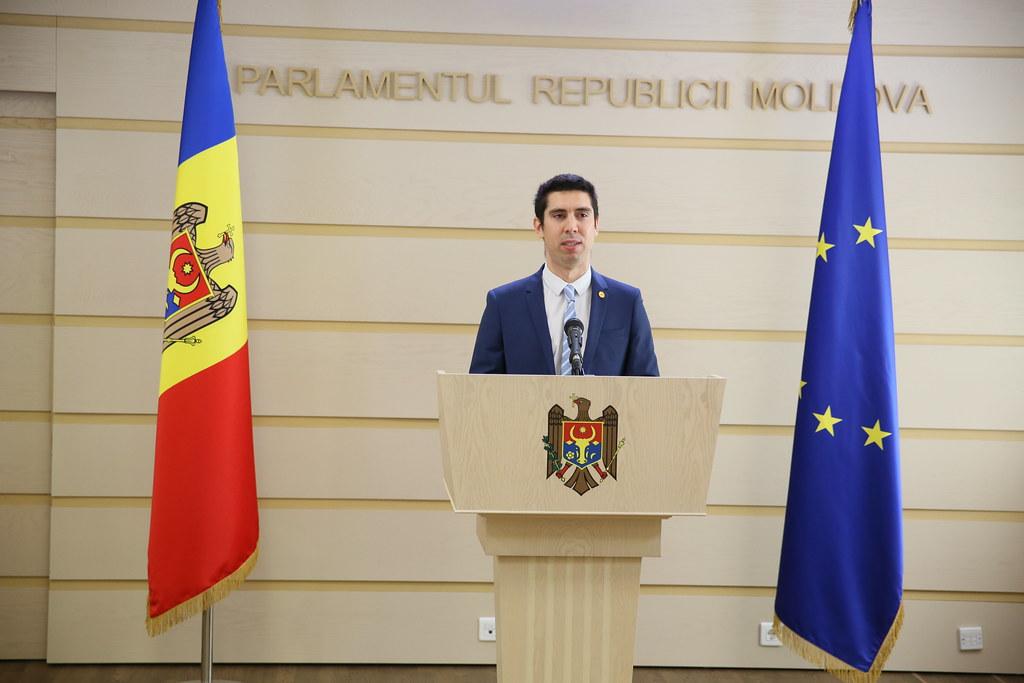 21.08.2020 Briefing de presă al deputaților Mihai Popșoi și Vladimir Bolea