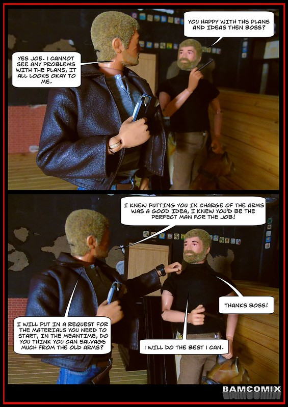 BAMComix Presents - REBUILDING THE AMMO ARMS - THE PLANNING MEETING 50252111982_29bd144125_c