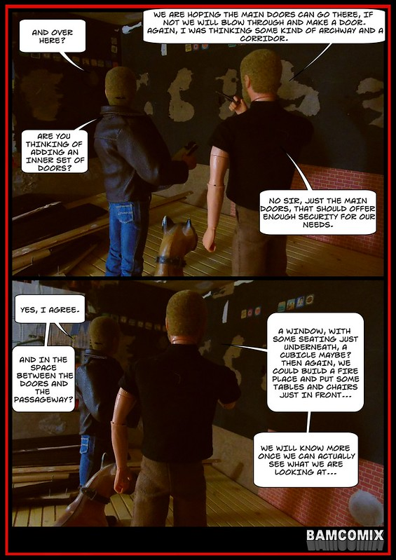 BAMComix Presents - REBUILDING THE AMMO ARMS - THE PLANNING MEETING 50252113232_44ec5e5f6a_c