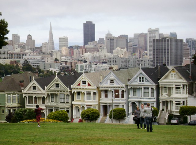 San Francisco - Postcard Row