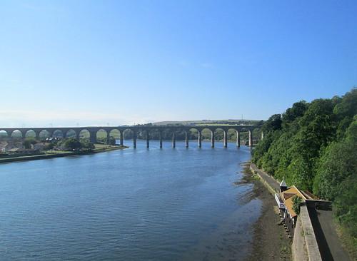 Rail Bridge, Berwick. Royal Border Bridge