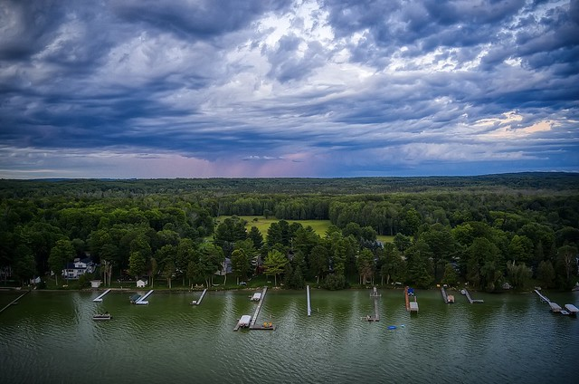 Above Burt Lake