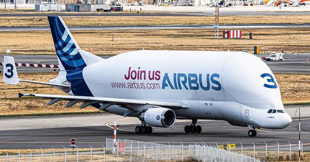 TLS FLBO / AirbusTransportInternational / Airbus A300-608ST Beluga / F-GSTC