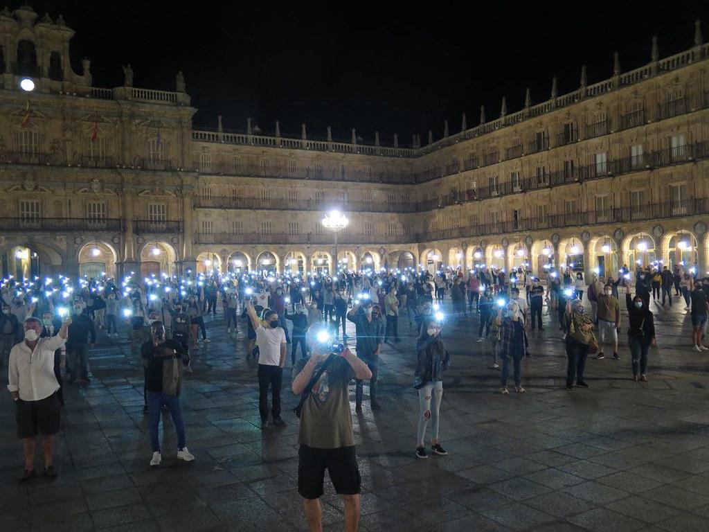 Concentración Salamanca defensa ocio nocturno (39)