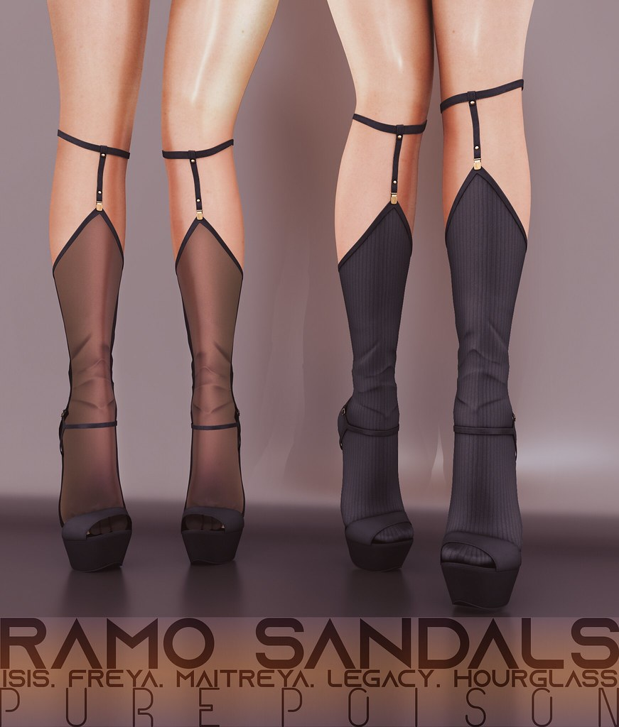 Pure Poison - Ramo Sandals for Wanderlust Weekend, 50L