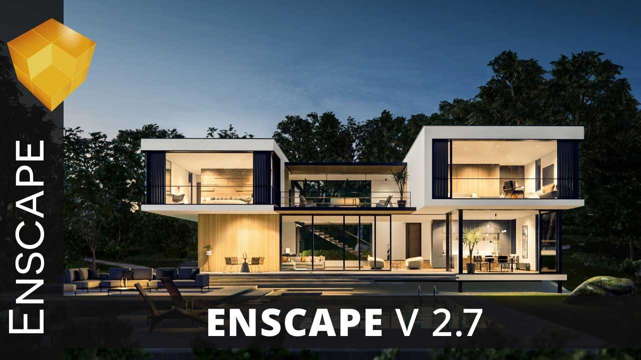 Working with Enscape3D 2.7.0.18848 full