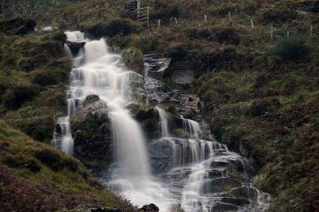 Waterfall in Sulby Valley