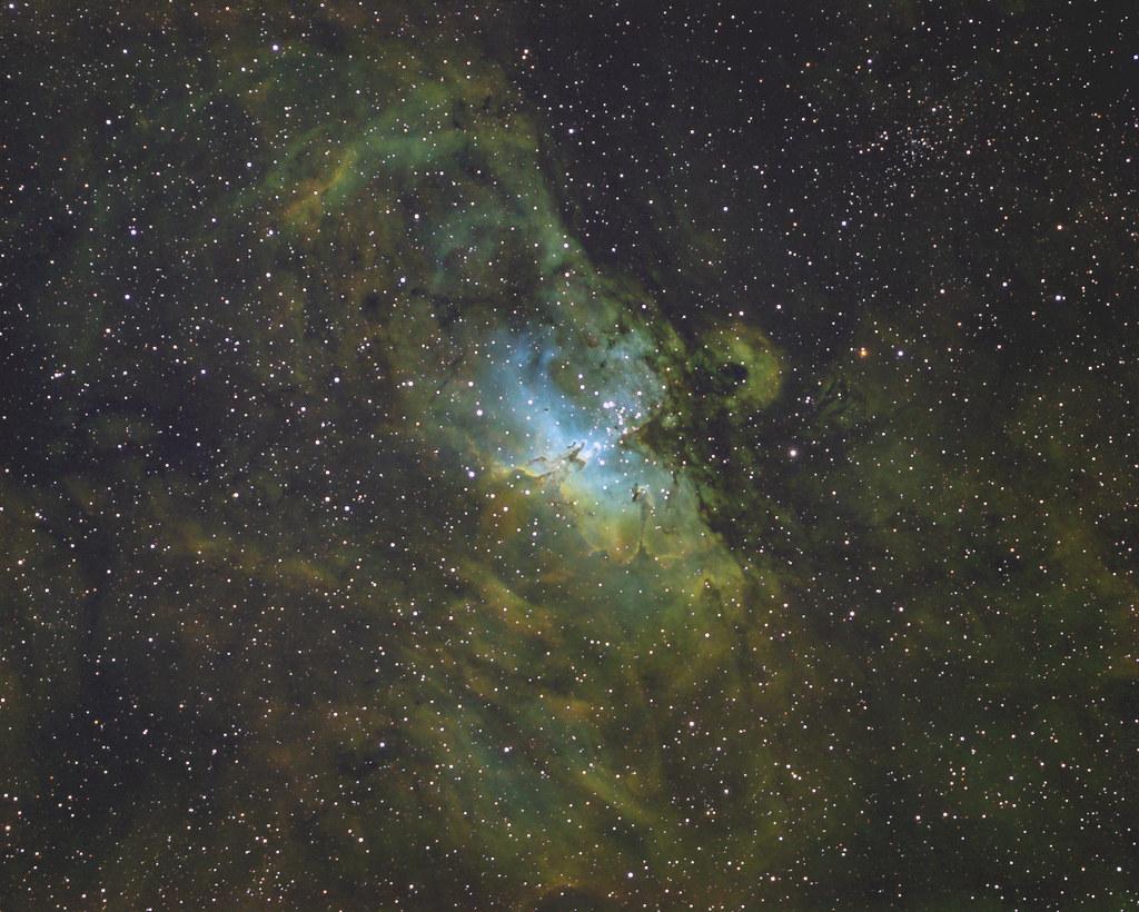 M16 - Eagle nebula (HST)