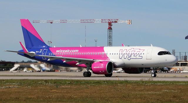 Wizzair, HA-LJE, MSN 10046, Airbus A 320-271N, 11.08.2020,  GDN-EPGD, Gdańsk