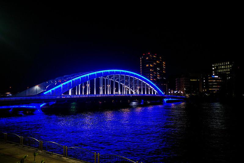 Eitaibashi blue lightup