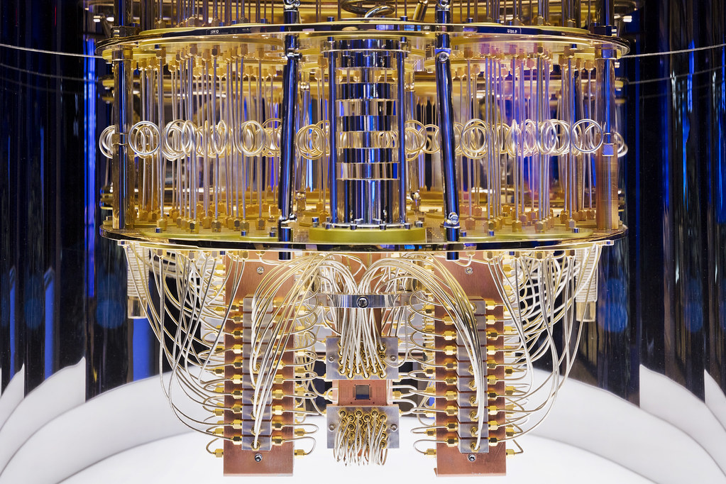 IBM Quantum Computer | Interior of IBM Quantum computing sys… | Flickr
