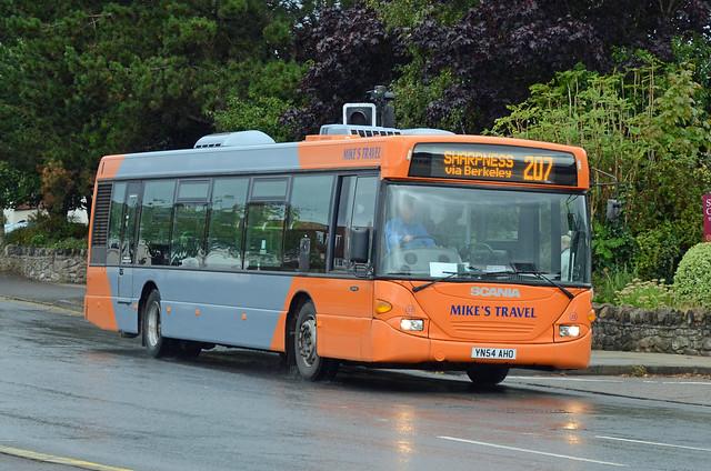 Mike's Travel YN54 AHO, Thornbury