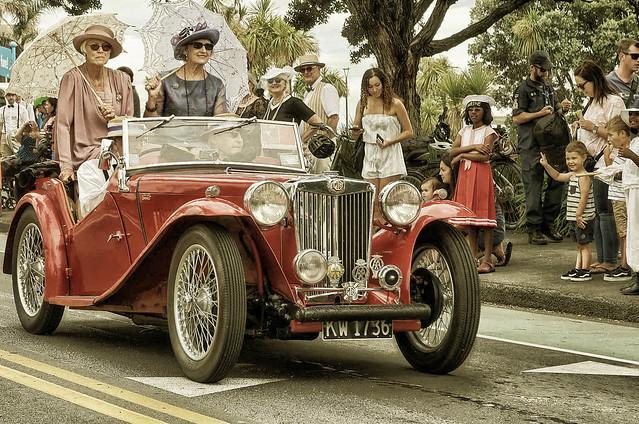 1936 MG TA Sports