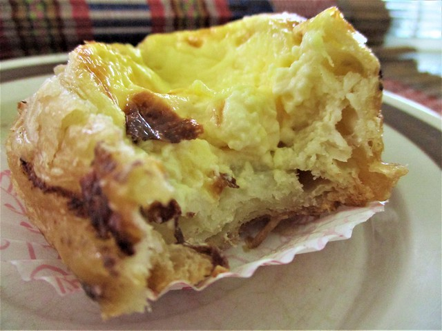 C & C Gallery Macau Portuguese egg tart, inside
