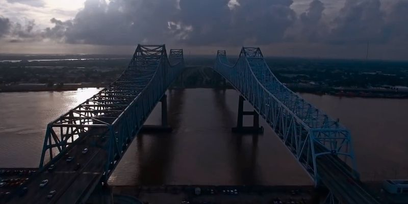 The bridges of New Orleans