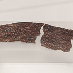 Iron knife blade from Bazzano, Tomb 1242