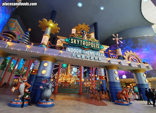 skytropolis indoor theme park